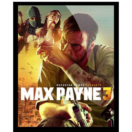 Icon Max Payne 3 By Hazzbrogaming Max Payne Max Payne 3 Max