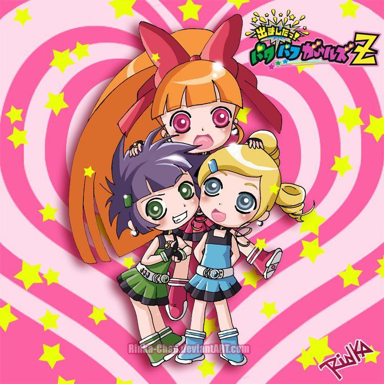Damashita Powerpuff Girls Z By Rinka-Chan