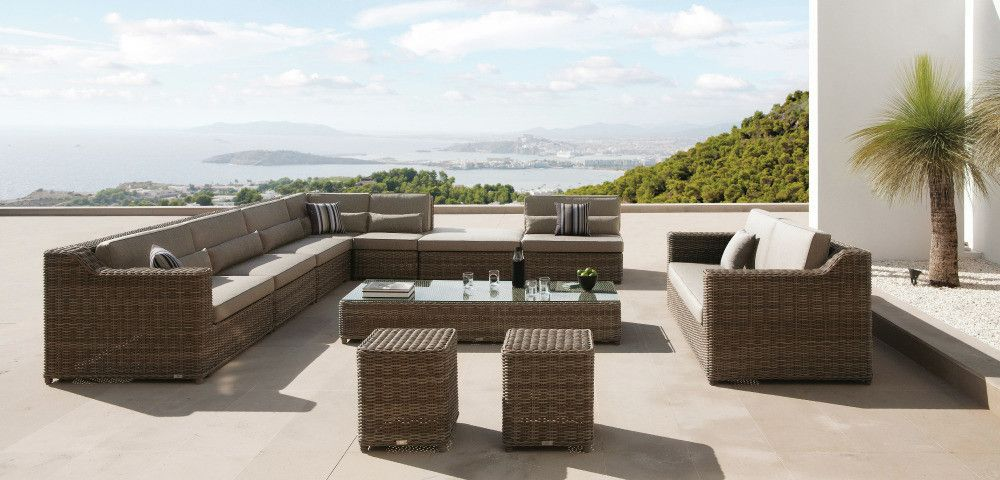 San Diego By Manutti Outdoor Furniture Sets Garden Side Table Outdoor Living Areas