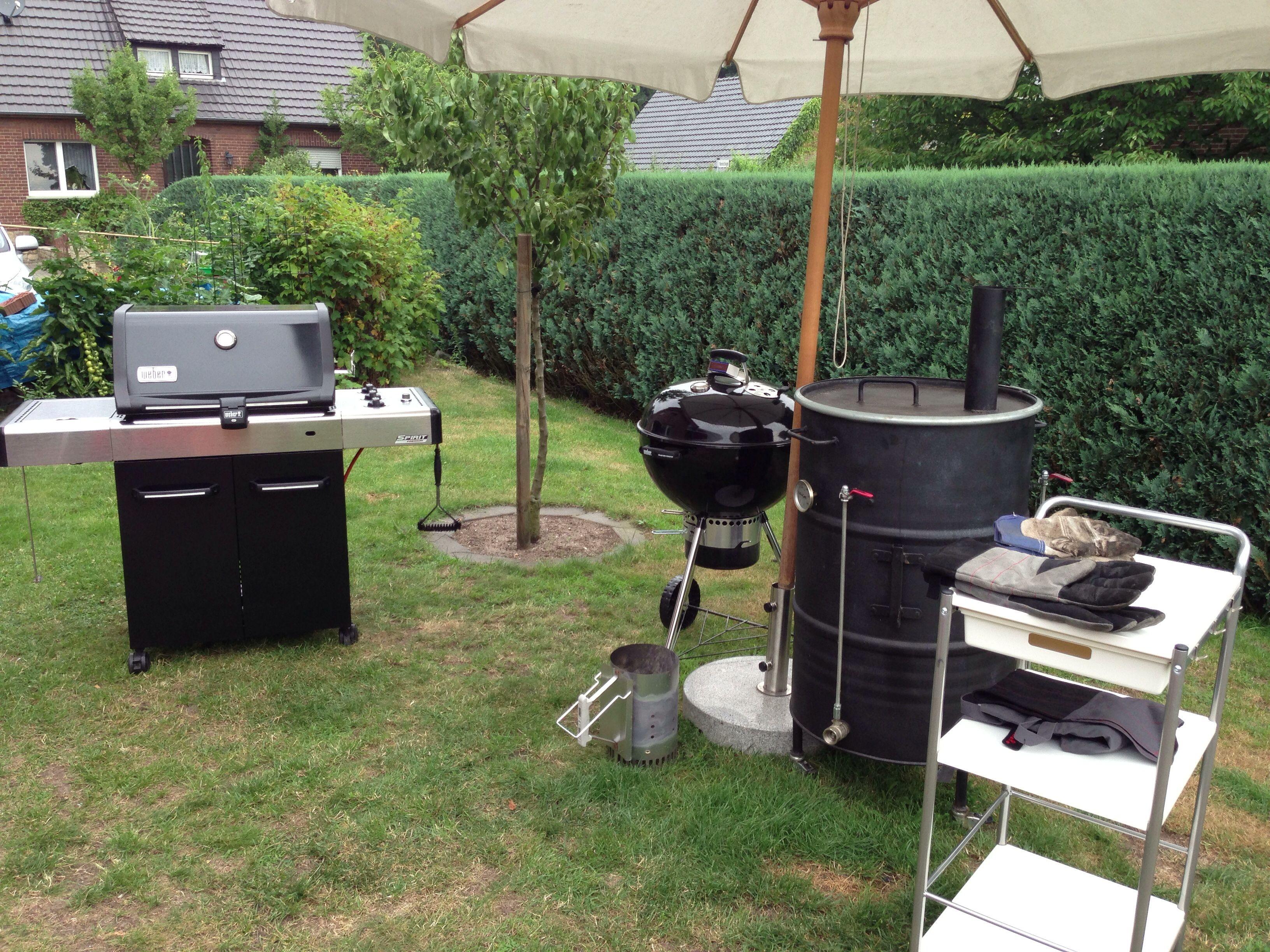 Weber Elektrogrill Lagerhaus : Das setup zur feier weber grill weber