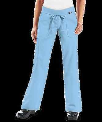 Nwt Koi Morgan By Kathy Peterson Cornflower Blue Scrub Pants Small