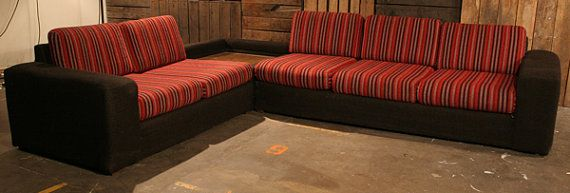 Mid Century Modern Retro Sectional Couch 3 by BlockHeadFurnishings, $700.00