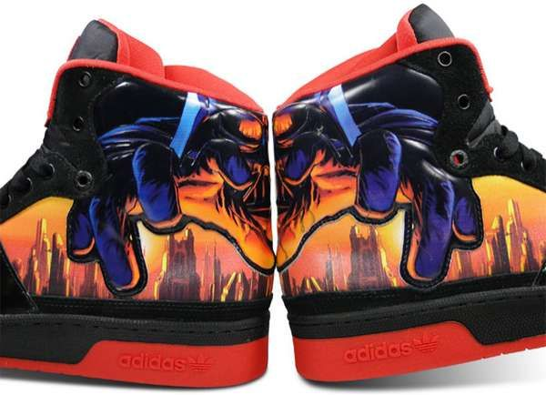 online store e37d7 1a823 Star Wars Fans Will Love the Adidas Skyline Mid Darth Vader Shoes shoes  footwear trendhunter.com