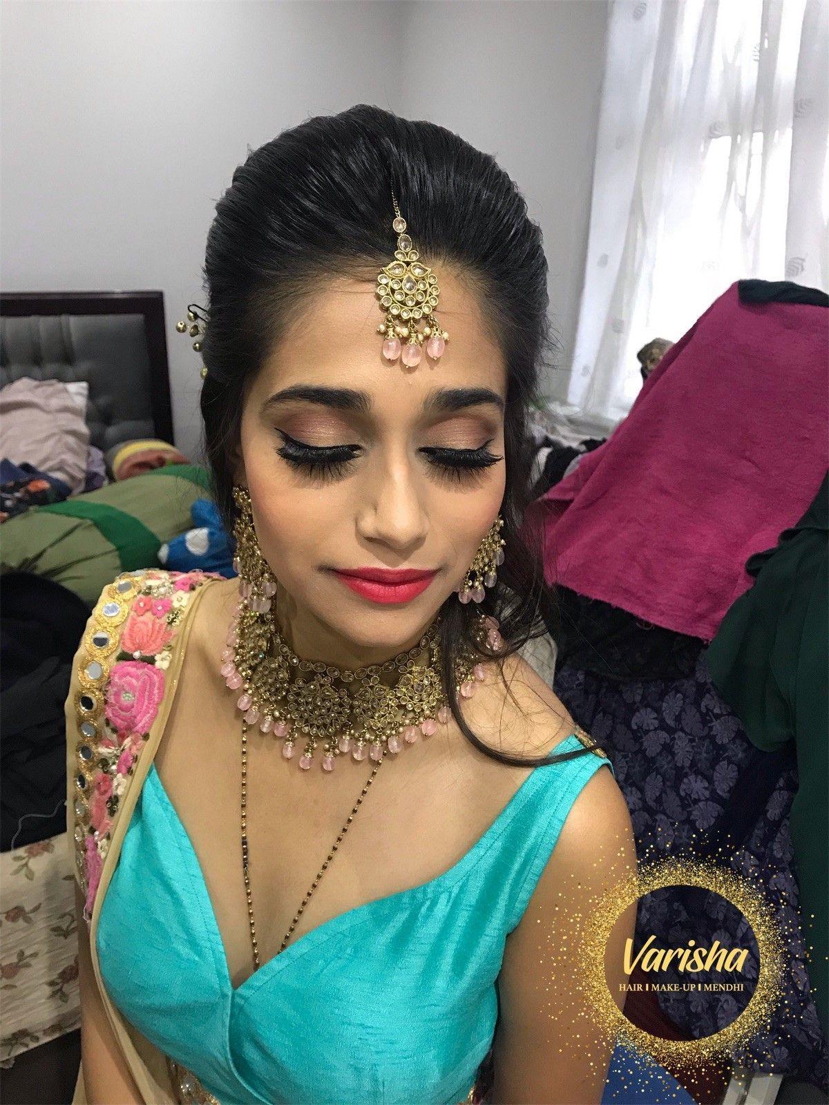 Chandlo/Sagai/Engagement Makeup Engagement makeup, Black