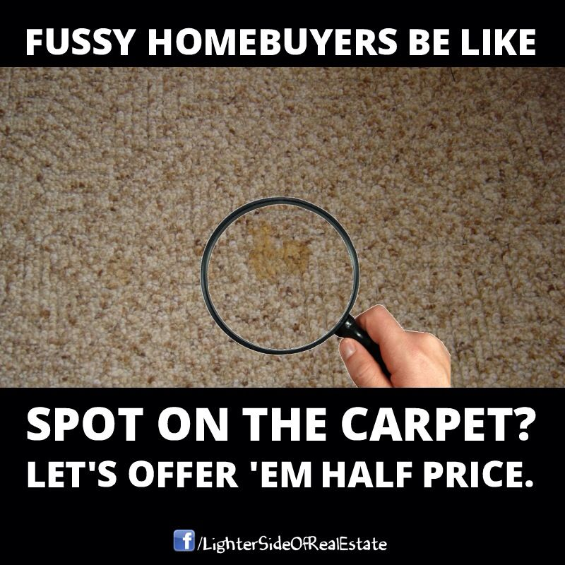 Real Estate Humor. The Lady May Not Be Able To Fix A