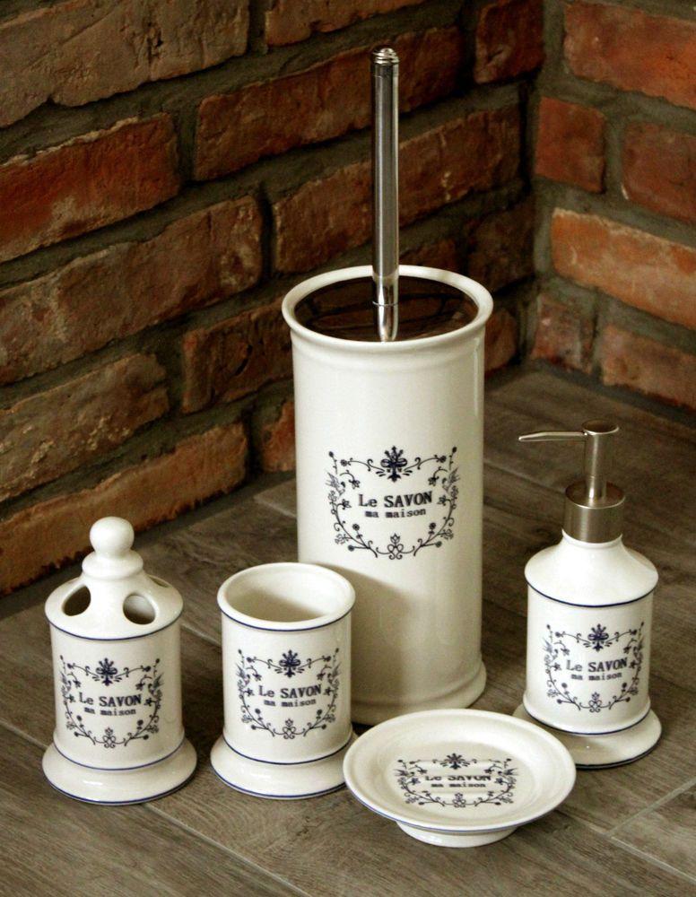 WC Garnitur Bürste Set Bad Bürstengarnitur Seifenspender