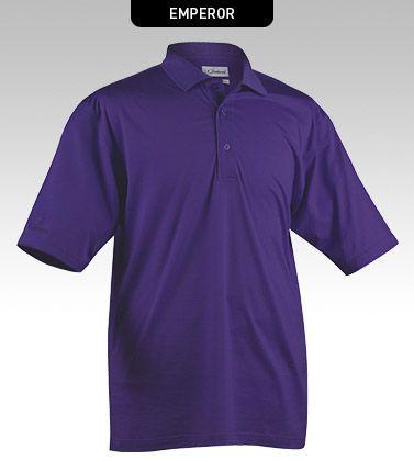 Superior 100 Cotton Double Mercerised Jersey Polo Shirt Performance