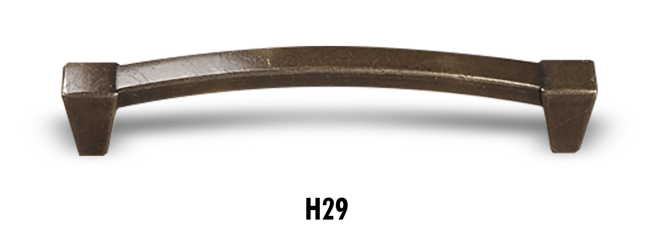 H29 Antique Brass Bar Handle