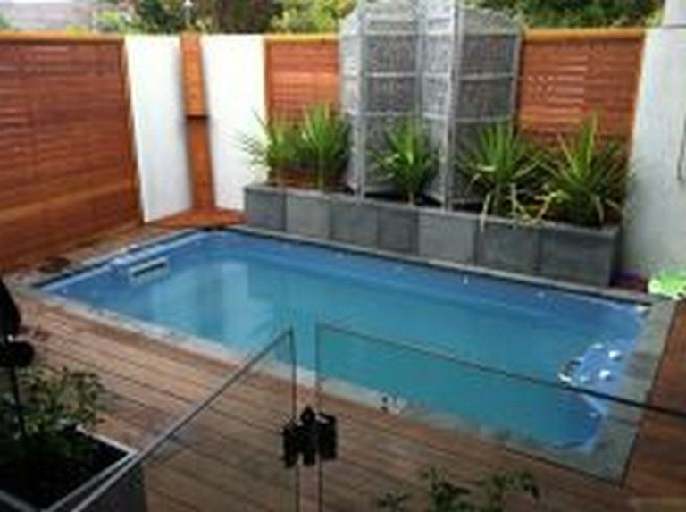 Small Backyard Inground Pool Ideas