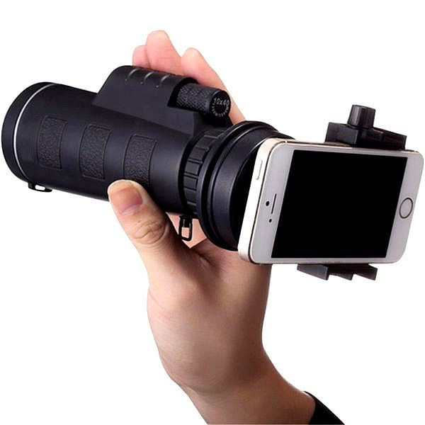 Universal 10x40 Smartphone Camera Lens (Zoom) With Holder