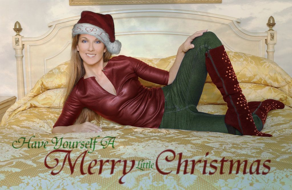 Merry Celine Christmas Celine Celine Dion Merry
