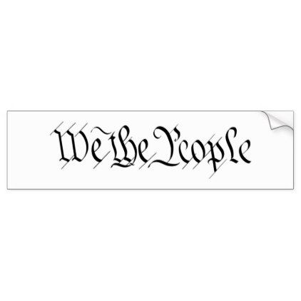 Template we the people bumper sticker template pinterest template we the people bumper sticker maxwellsz