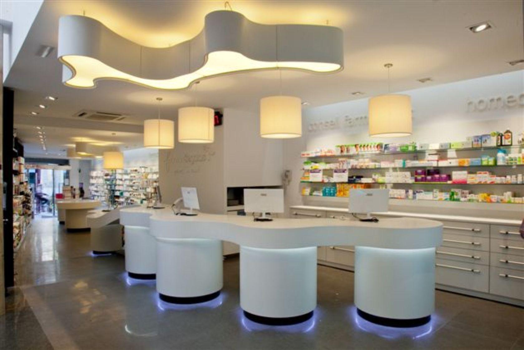 Pharmacy Segalas. Retail Design Sabadell. Barcelona (Spain)  QIDStudio. Artur Fuster Architects
