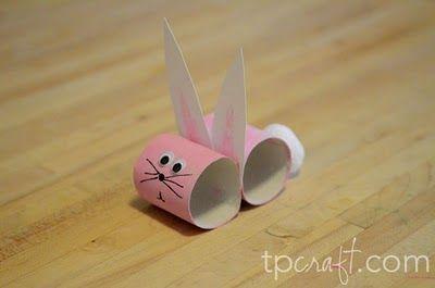 Cute Little Bunny Toilet Paper Roll