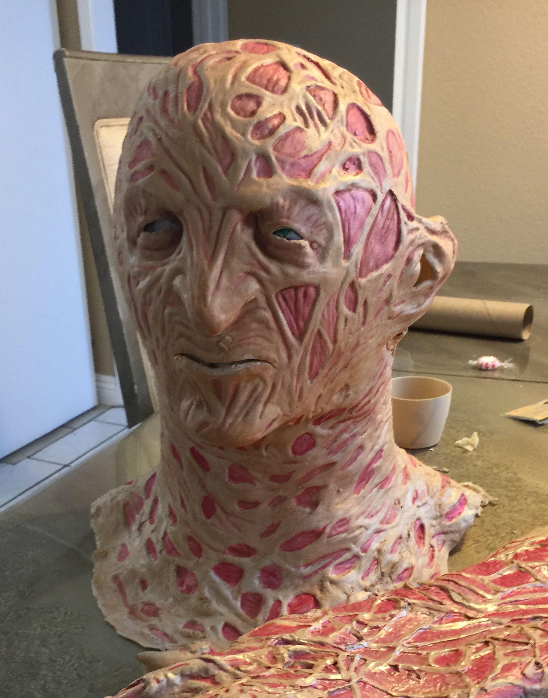 Freddy mask 100 Freddy krueger mask, Monster mask
