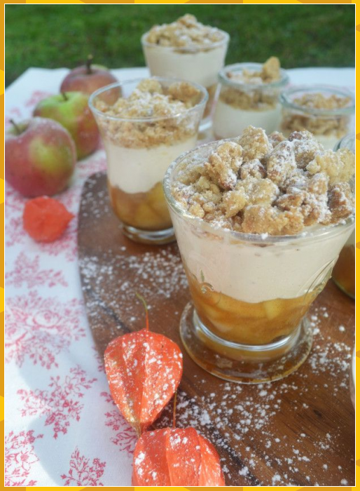 Wir löffeln den Herbst! Apple Crumble im Glas #Apple #best healthy dessert recipes #Crumble #den #Glas #healthy dessert recipes 3 ingredients #healthy dessert recipes apple #healthy dessert recipes banana #healthy dessert recipes blueberry #healthy dessert recipes cake #healthy dessert recipes cheesecake #healthy dessert recipes chocolate #healthy dessert recipes clean eating #healthy dessert recipes cookies #healthy dessert recipes diabetic #healthy dessert recipes easy #healthy dessert recipes