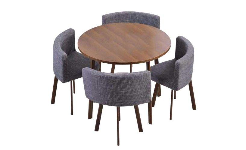 Table Et Chaises Oslo Xl Chene Et Simili Blanc En 2020 Table Et Chaises Table Ronde Extensible Et Table Salle A Manger