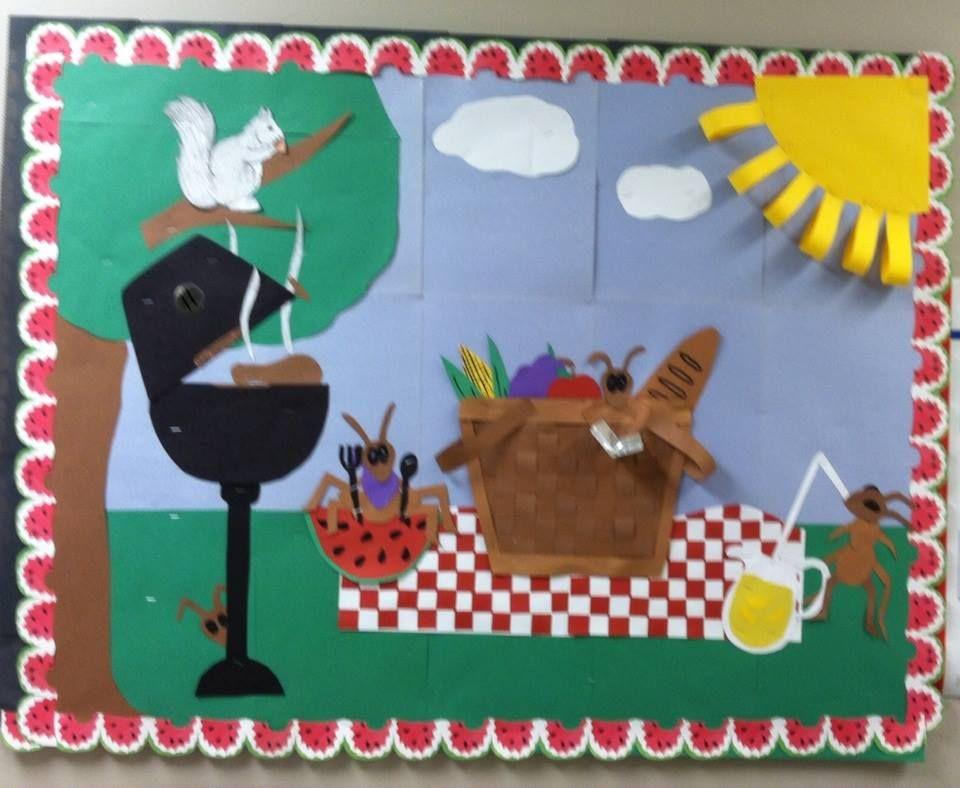 Summer Bulletin Board At The Nursing Home Holiday Bulletin