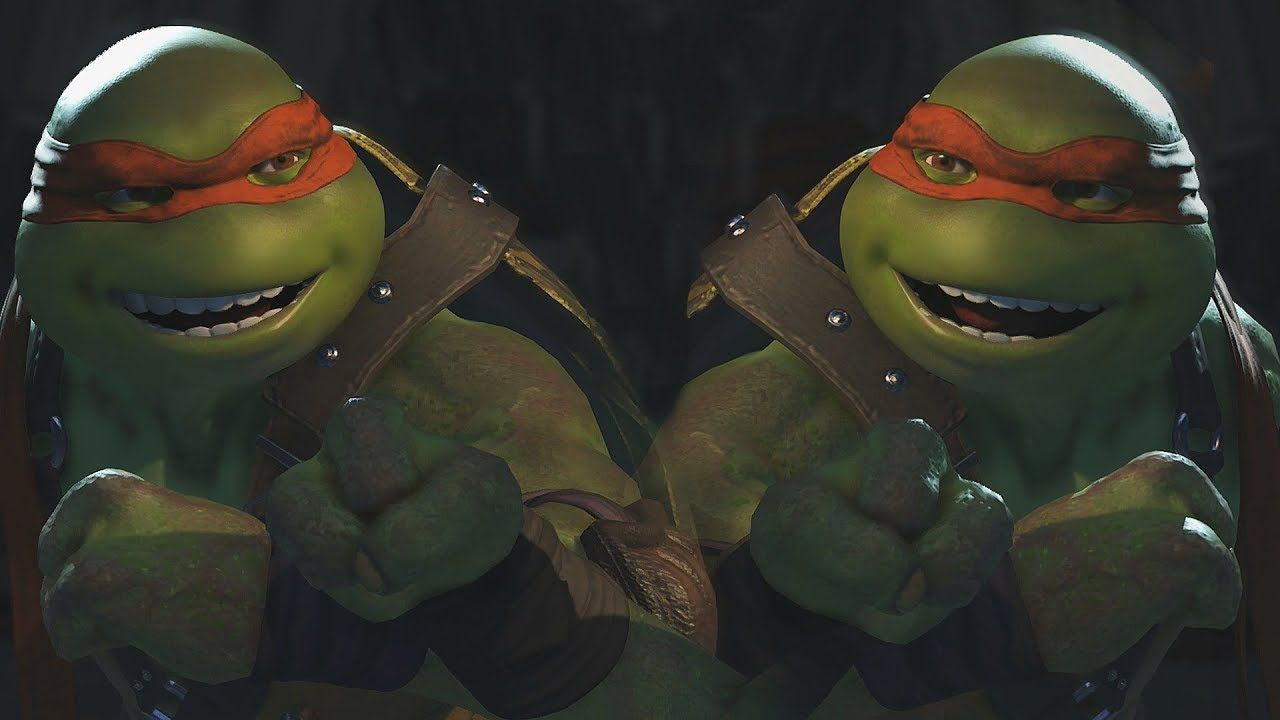 Injustice 2 All Dlc Characters Vs Themselves All Intros Interactions Injustice 2 Injustice Tmnt