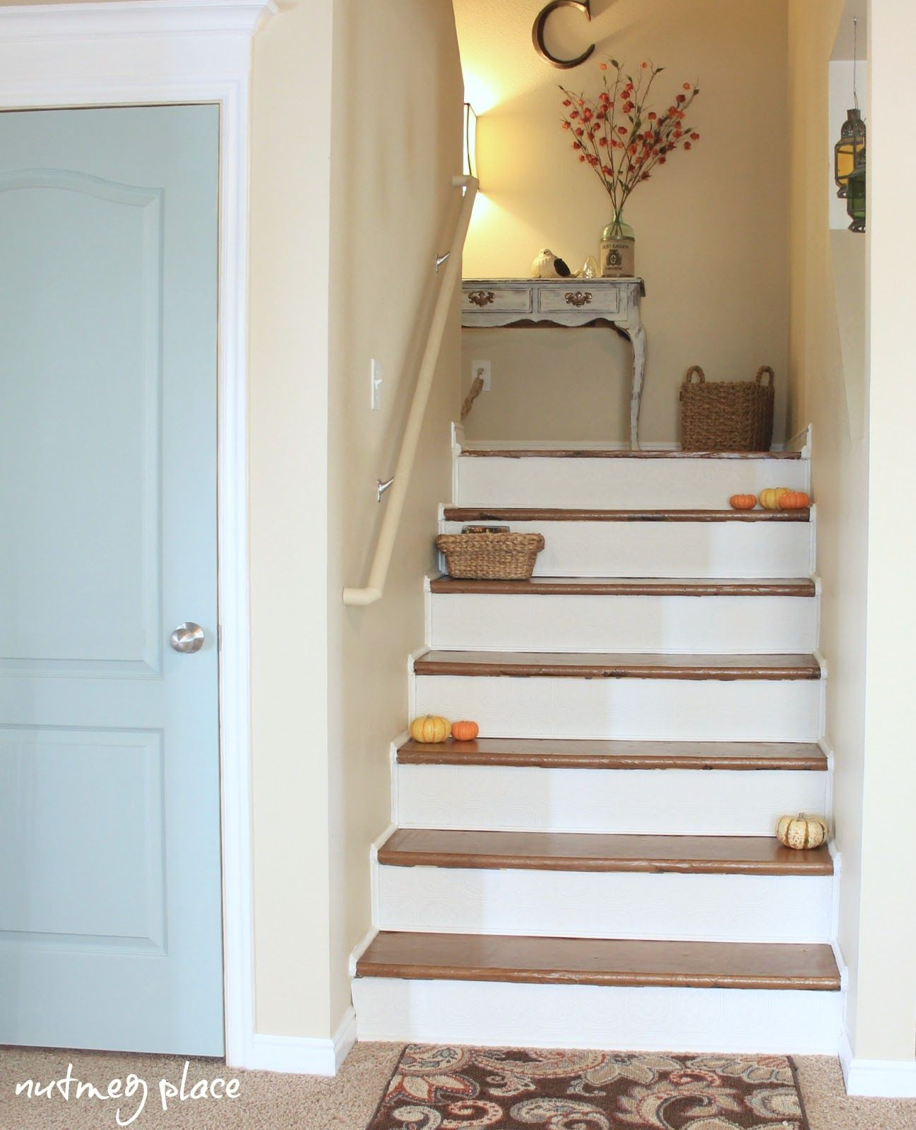 25 Pretty Painted Stairs Ideas: Stair Makeover (removing Carpet!)