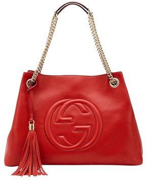 8e782300dd22 Gucci Soho Red With Gold Hardware Shoulder Bag $1,450 | Bags ...