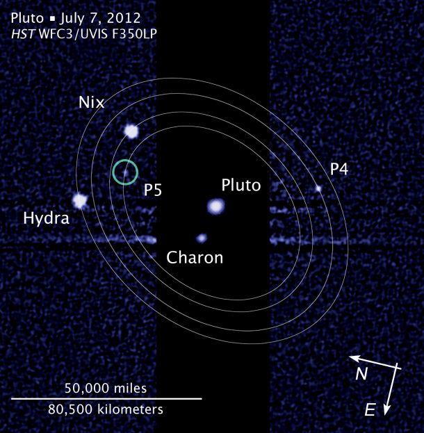 Plutonian moons