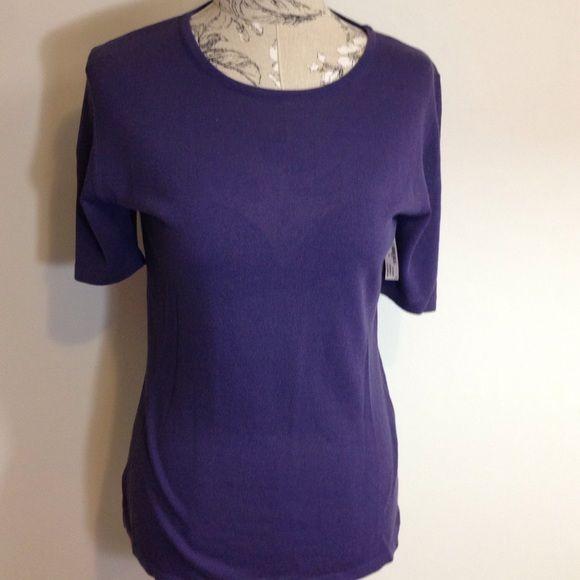Zanella Purple Top L Made in Italy. Zanella Tops