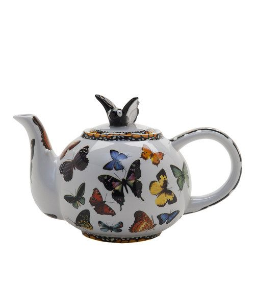 Look at this #zulilyfind! Butterflies Two-Cup Teapot by Cardew Design #zulilyfinds