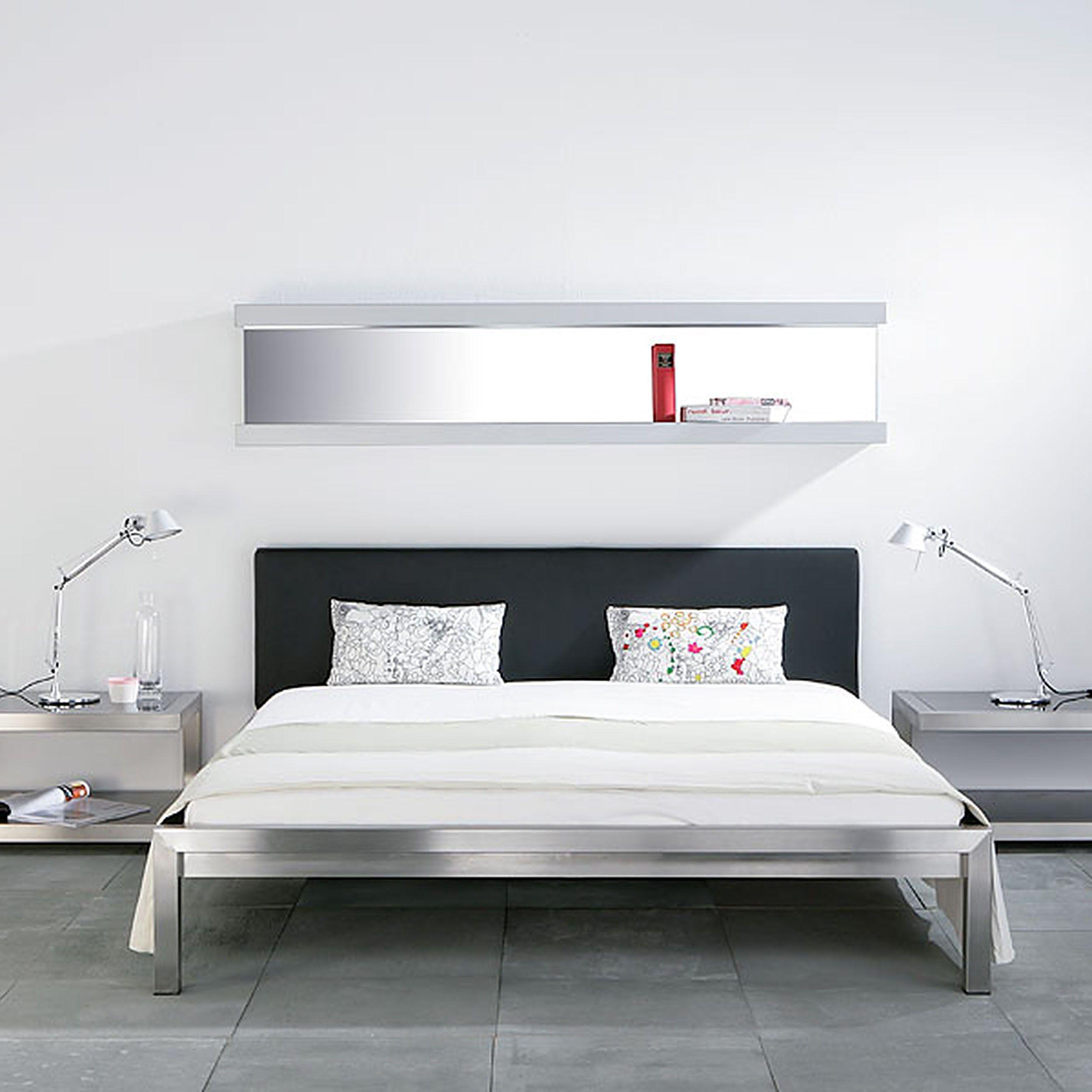 Pure Bett Mit Gepolstertem Kopfteil 180 A048787 000 Bett Ideen Haus Deko Schlafzimmer Deko