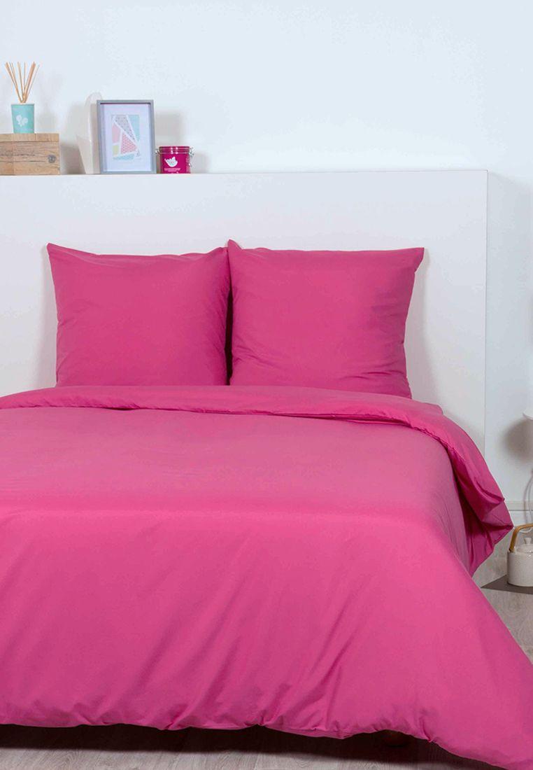 Superieur Idée Déco : Une Jolie Chambre Rose Fushia   Parure De Lit Rose Fushia  #décoration