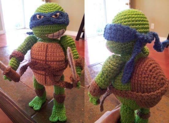 crochet+ninja+turtle+afghan+patterns | Ninja Turtle Crochet Pattern ...