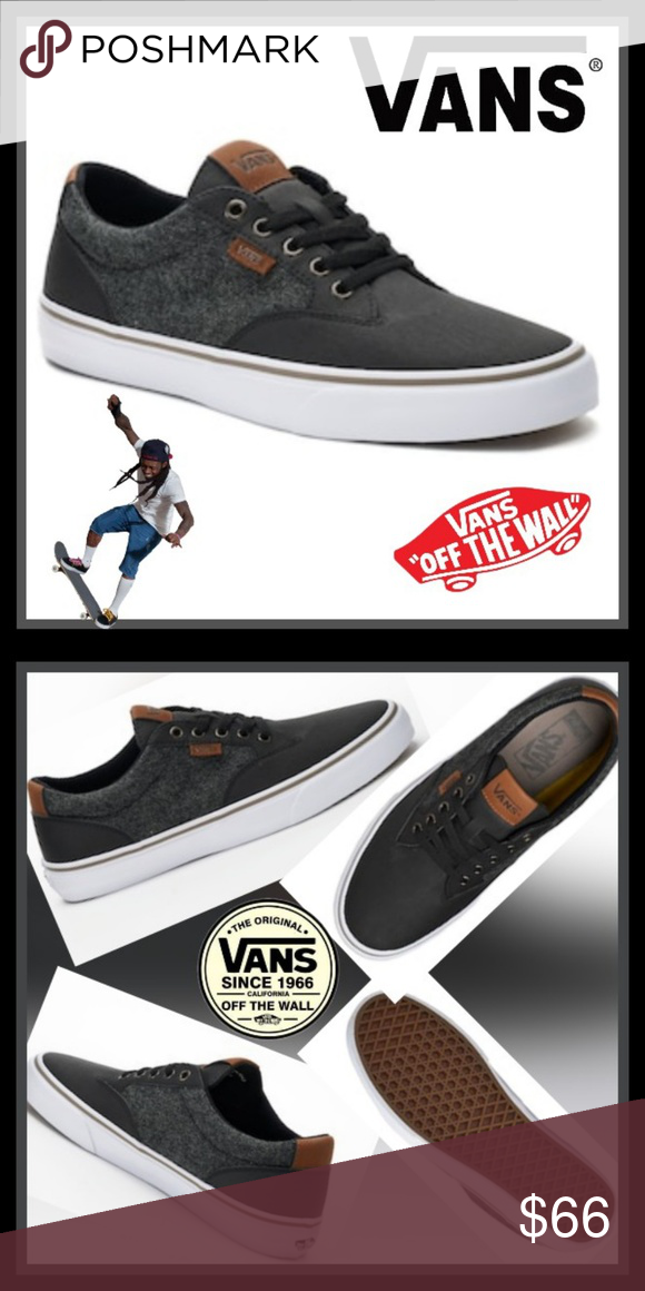 HP ❤ Vans Winston DX Men s Skate Shoes These men s Vans Winston DX shoes  are comfortable for your on-the-go lifestyle. SHOE FEATURES  Removable  Ortholite ... 9a252bd7e