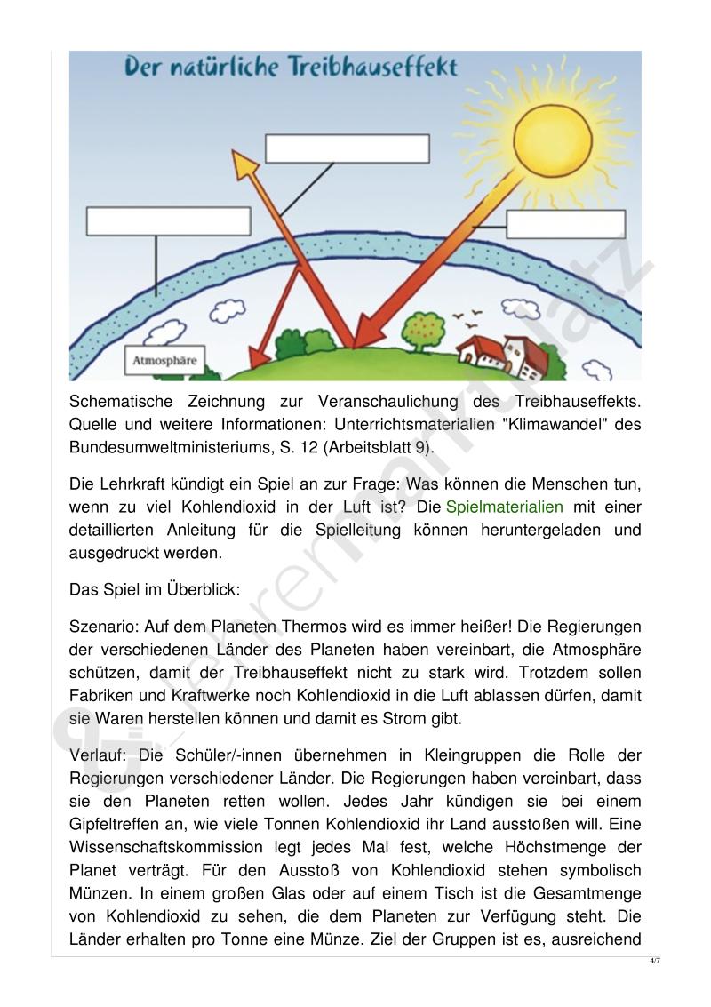 Unterrichtsentwurf: Wem gehört die Luft? - #arbeitsblätter #bildung ...