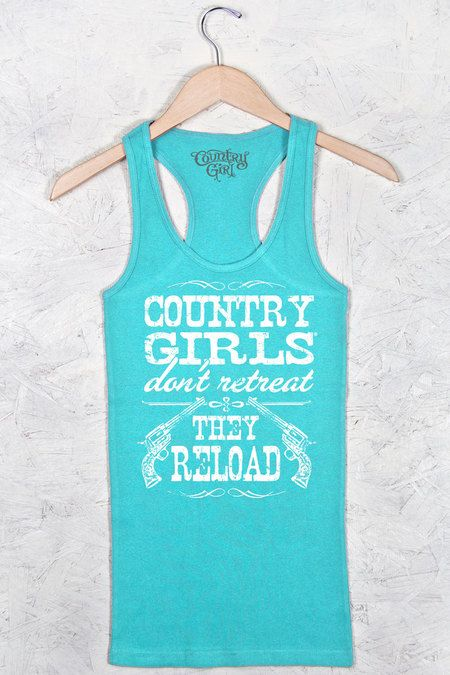 d2a6bc6165838 Women s Country Girl® Reload Fitted Racerback Tank