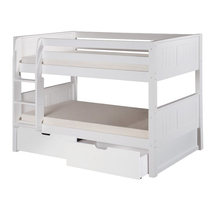 Camaflexi Twin Bunk Bed With Storage Reviews Wayfair