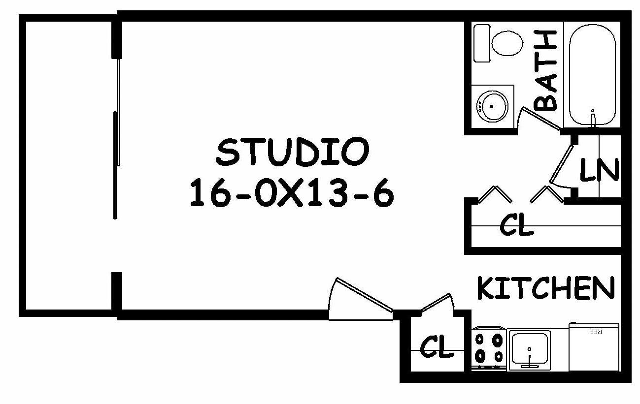 Modern Studio Garage Apartment Floor Plans Floorplans