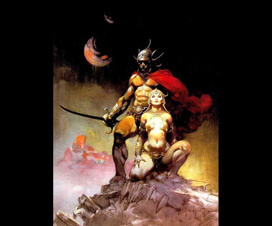 Frank Frazetta Fighting_Man_of_Mars