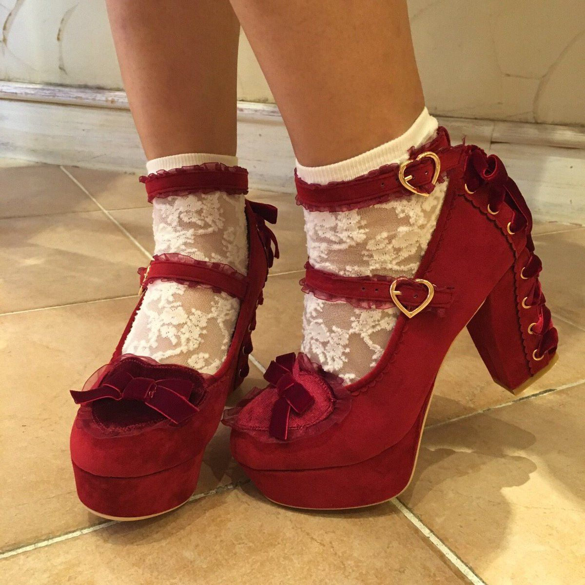 5d103612f04 I live these shoes!!! | Shoes! !!! Need i say more? | Lolita shoes ...
