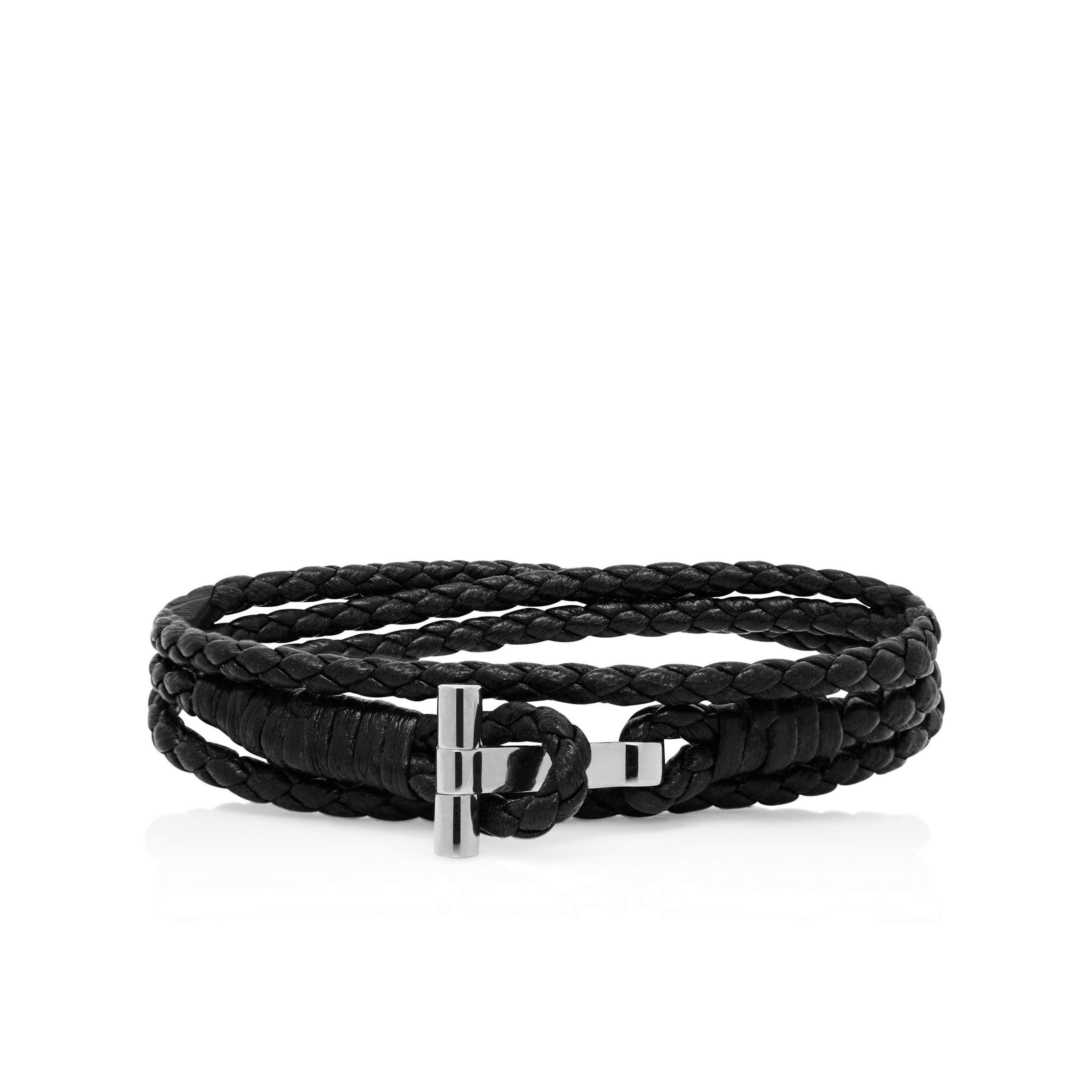 woven bracelets leather men korean fashion male really for bracelet acbdcceeb