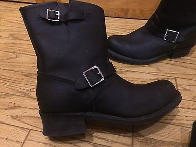 Frye Buckle Mid-Shaft Solid Black Leather Boots Size 11 https://t.co/0V111b7UbF https://t.co/32AxzlGYd6