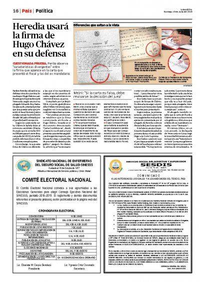 Edición Impresa Lima 19-06-2016 | Noticias del Perú | LaRepublica.pe