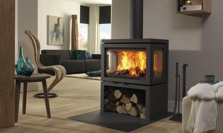 Woodburning Multi Fuel Freestanding Fireplace Wood Fireplace