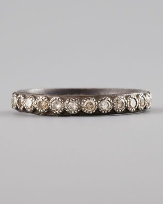 REVEL: Oxidized Sterling Silver Band