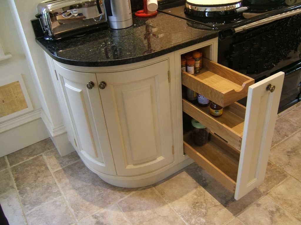 Kitchen Cabinets With Rounded Corners