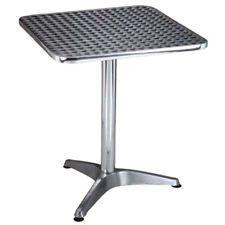 Tavolo a colonna 70x70xh70cm waterproof in alluminio bar