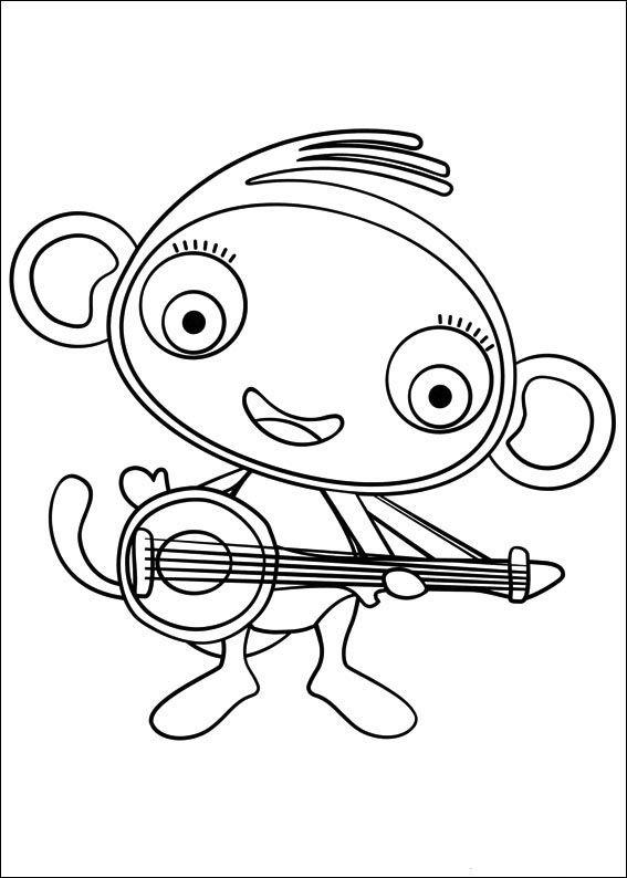 waybuloo 4 ausmalbilder für kinder malvorlagen zum