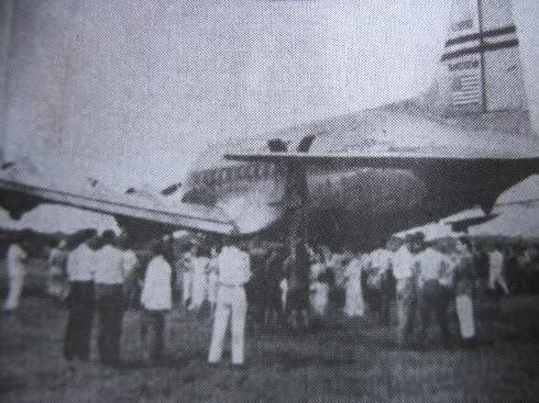 Em 1949, um DC4 fez um pouso de emergência em Paranavaí.