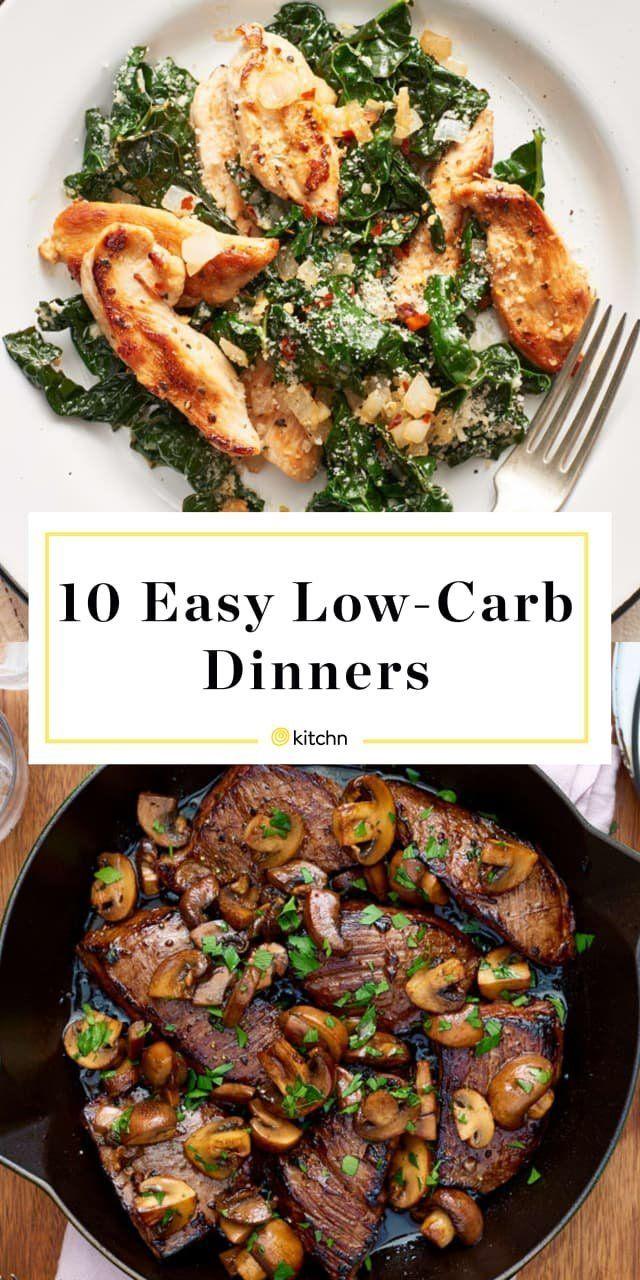 Unsere 10 einfachsten Rezepte für ein kohlenhydratarmes Abendessen #ketodinnerrecipes