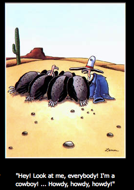 Image result for the far side im a cowboy