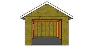 Building how to build a detached garage this step by step diy building how to build a detached garage this step by step diy article is about how to build a detached garage building a small garage for a single car solutioingenieria Choice Image